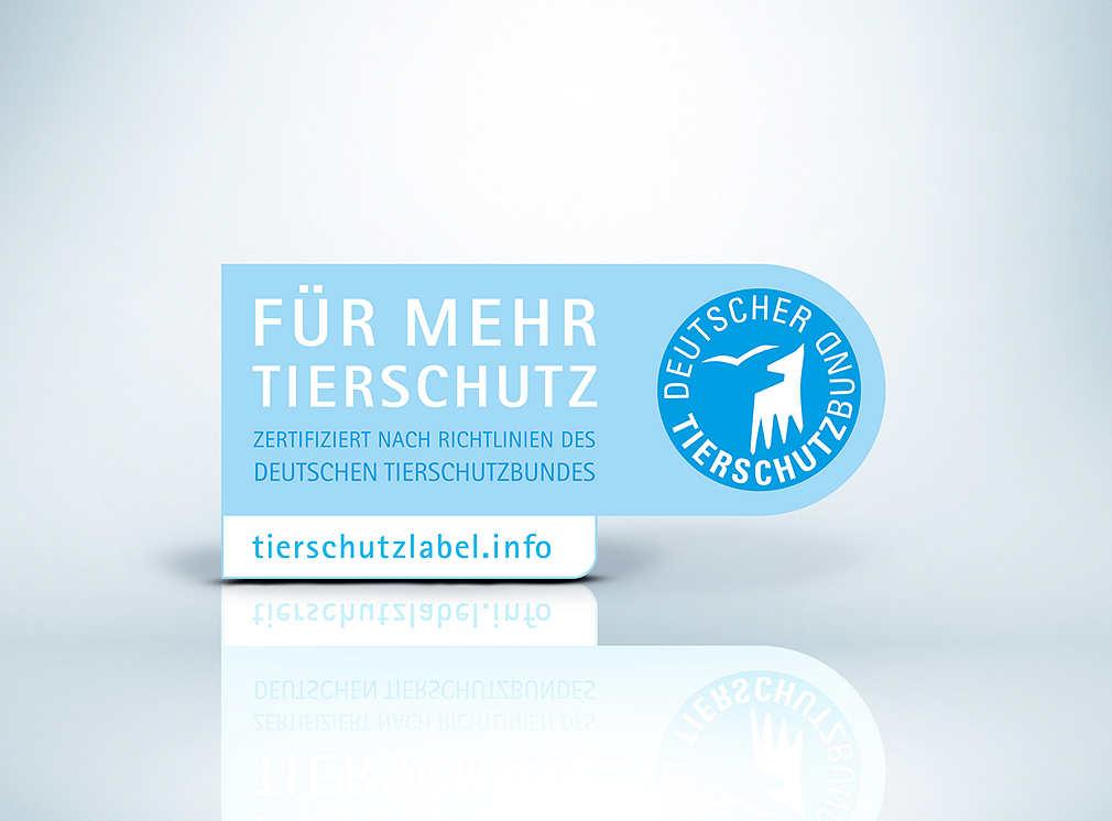 Produktsiegel: Deutscher Tierschutzbund