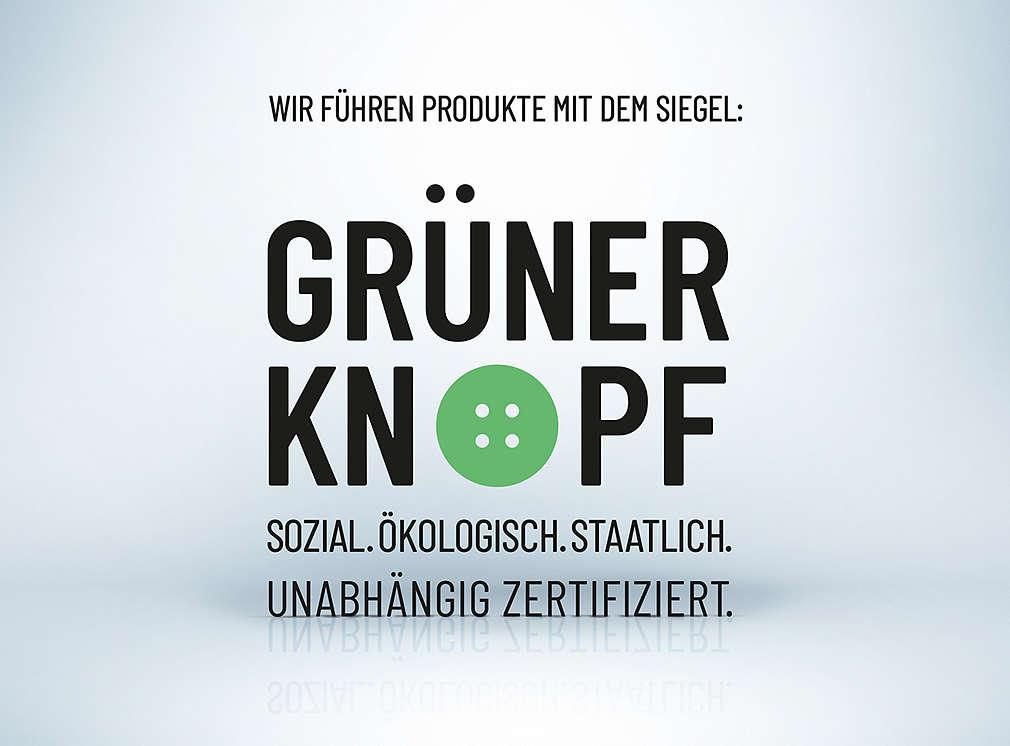 Produktsiegel: Grüner Knopf