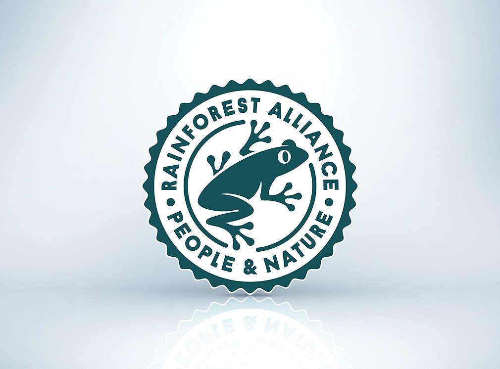 Produktsiegel: Rainforest Alliance Certified