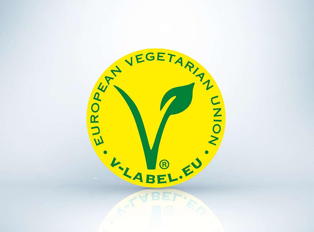 Produktsiegel: V-Label